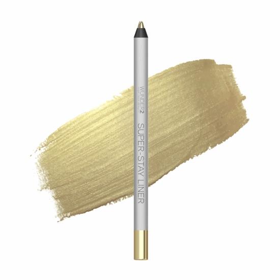 Metallic White Gold Super-Stay Liner